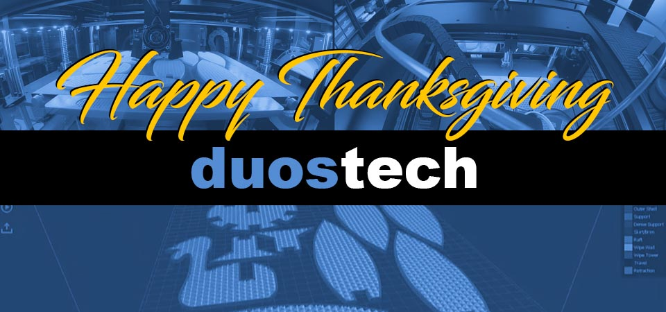 Duostech 3D Thanksgiving